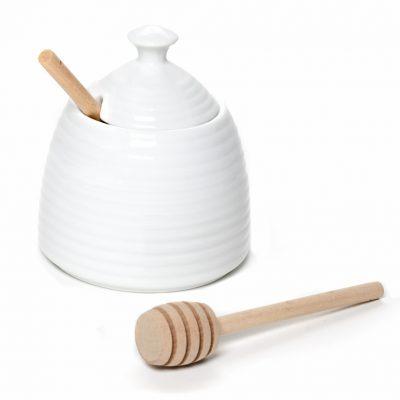 Beehive Honey Pot