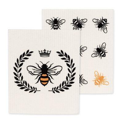 Bee Dishcloth Set
