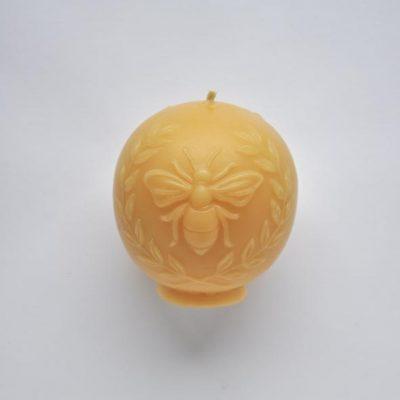 Vintage Bee Candle