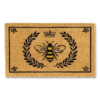 Bee Crest Doormat