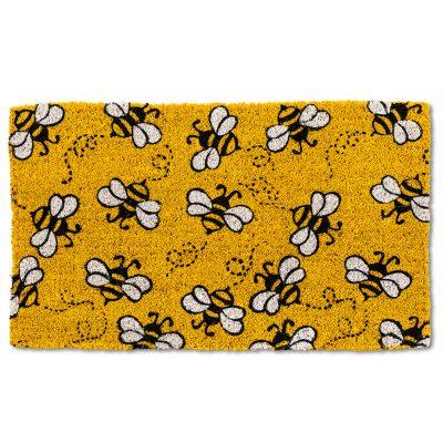 Yellow Bee Doormat