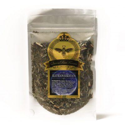 Blue Moon Saskatoon Tea - Queen Bee Farm