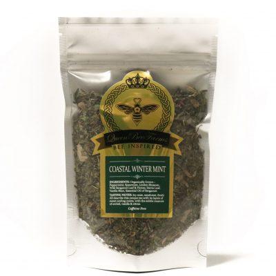 Coastal Winter Mint Tea - Queen Bee Farm