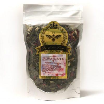 Sakura Blossom Green Tea - Queen Bee Farm