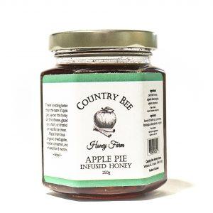Apple Pie Infused Honey