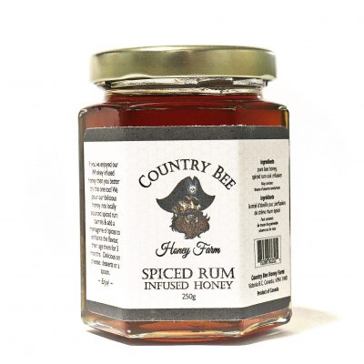 Spiced Rum Infused Honey