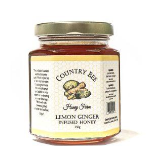 Lemon Ginger Infused Honey 250g