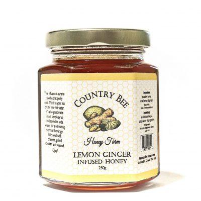 Lemon Ginger Infused Honey