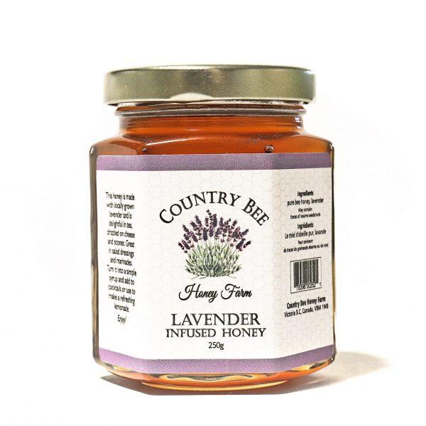 Lavender Infused Honey 250g