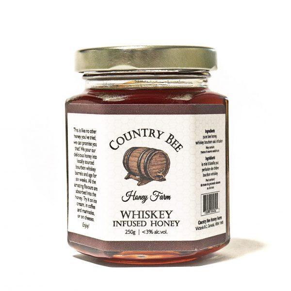 Whiskey Infused Honey 250g