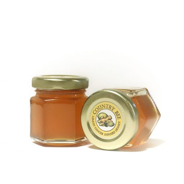 Lemon Ginger Infused Honey 45ml