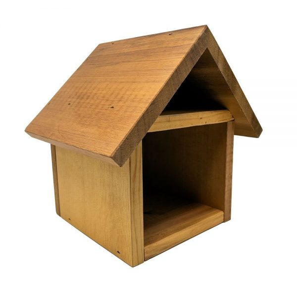 Mason Bee Chalet side view