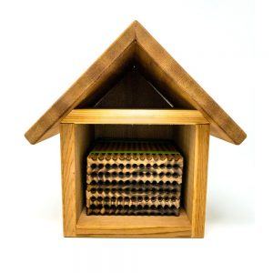 Leafcutter Bee House Front