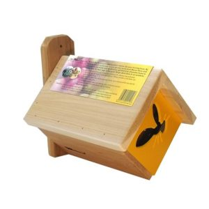 Leafcutter bee house Yellow