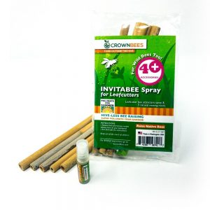 Summer Leafcutter Bee attractant spray