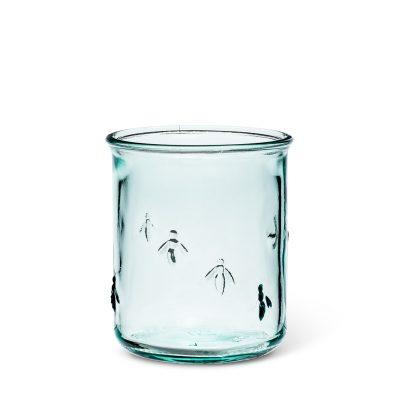 glass bee tumbler