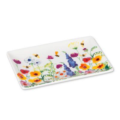 bee garden plate